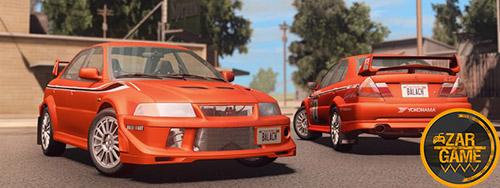 دانلود ماشین Mitsubishi Lancer Evolution VI 1999 برای بازی (GTA 5 (San Andreas