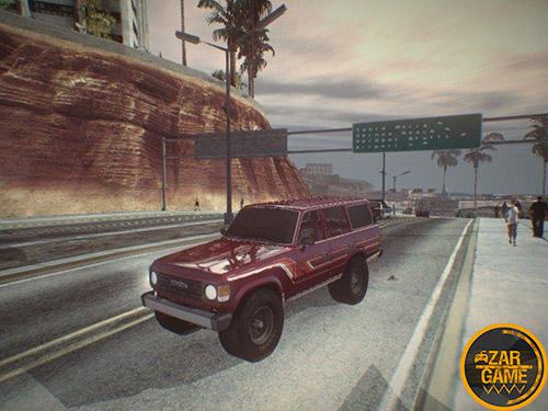 دانلود ماشین تویوتا لندکروزر FJ60 برای بازی (GTA 5 (San Andreas