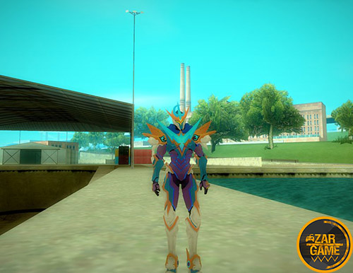 دانلود اسکین Gusion از بازی Mobile Legends: Bang Bang برای بازی (GTA 5 (San Andreas