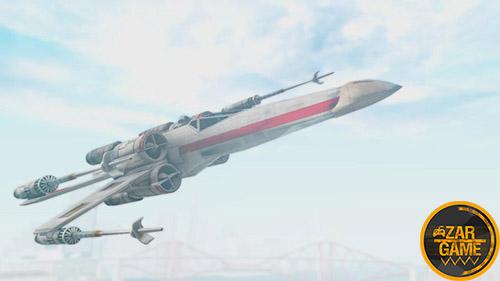دانلود فضاپیمای X-Wing از بازی Star Wars Battlefront برای بازی (GTA 5 (San Andreas