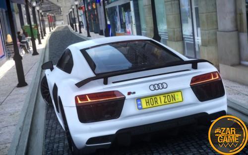دانلود خودروی 2018 Audi R8 V10 Plus برای GTA 4 (GTA IV)