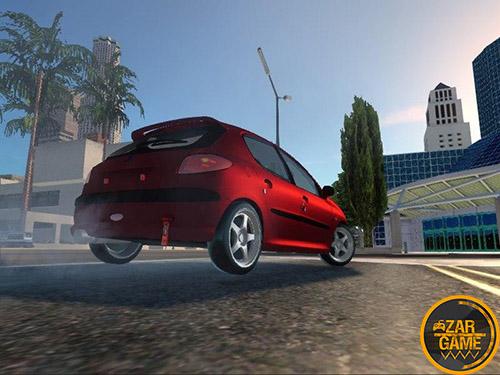 دانلود خودرو پژو 206 Sport برای بازی (GTA 5 (San Andreas