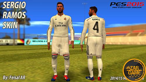 دانلود اسکین سرخیو راموس برای بازی (GTA 5 (San Andreas