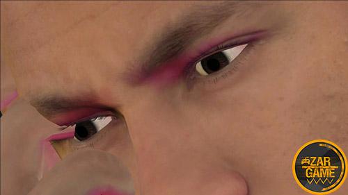 دانلود اسکین نیمار از بازی PES 2020 برای بازی (GTA 5 (San Andreas