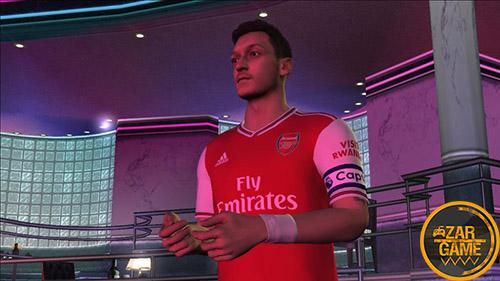 دانلود اسکین مسعود اوزیل از بازی PES 2020 برای بازی (GTA 5 (San Andreas