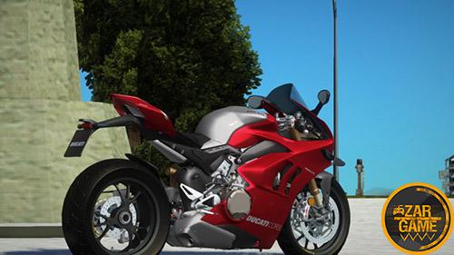 دانلود موتورسیکلت [2019] DUCATI PANIGALE V4R برای بازی (GTA 5 (San Andreas
