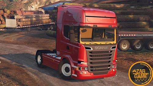 دانلود کامیون Scania R730 Streamline 4x2 برای بازی GTA V