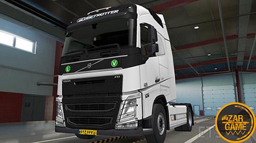 دانلود کامیون Volvo FH500 ایرانی برای بازی ETS 2