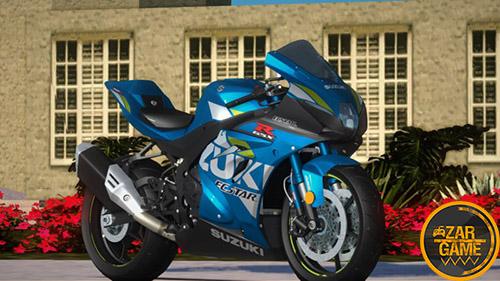 دانلود موتورسیکلت [2019] SUZUKI GSX-R 1000R برای بازی (GTA 5 (San Andreas