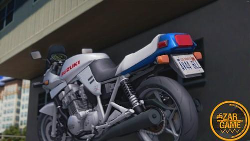 دانلود موتور Suzuki GSX 1100 S Katana 1981 برای GTA5 (San Andreas)