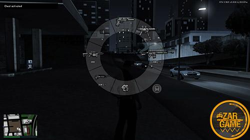 دانلود HUD بازی GTA V [نسخه نهایی] برای بازی (GTA 5 (San Andreas