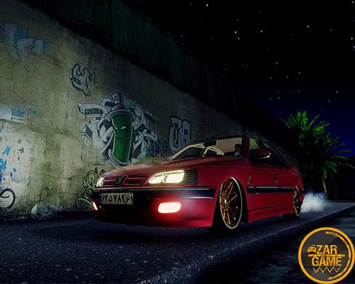 دانلود ماشین پارس تیونینگ بسیار با کیفیت برای بازی (GTA 5 (San Andreas