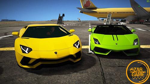 دانلود ماشین Lamborghini Aventador S LP740-4 برای بازی GTA V