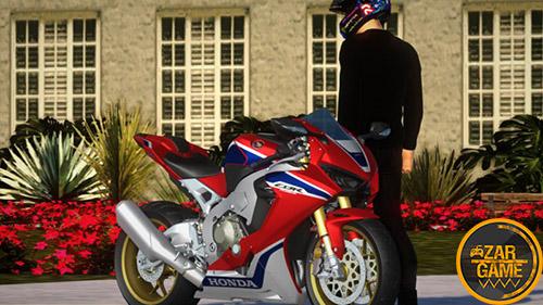 دانلود موتورسیکلت [2019] HONDA CBR 1000RR FIREBLADE SP برای بازی (GTA 5 (San Andreas