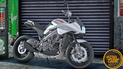 دانلود موتورسیکلت 2019 Suzuki Katana برای بازی (GTA 5 (San Andreas