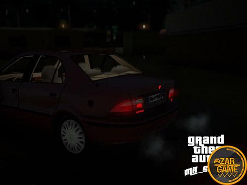 دانلود ماشین سمند LX با داشبورد قدیم برای (GTA 5 (San Andreas