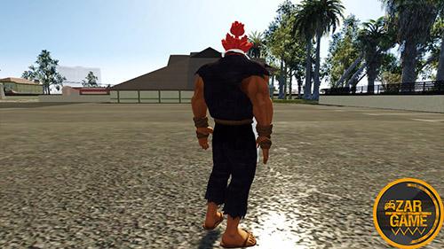 دانلود اسکین Akuma Gouki از بازی TEKKEN 7 برای بازی (GTA 5 (San Andreas
