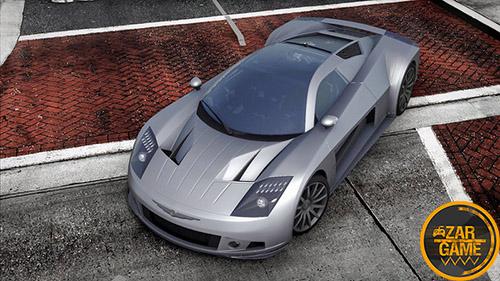 دانلود ماشین Chrysler ME-412 با طرح مفهومی برای بازی (GTA 5 (San Andreas