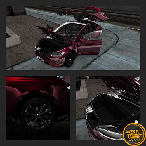 دانلود ماشین تسلا مدل ایکس 2020 برای بازی (GTA 5 (San Andreas
