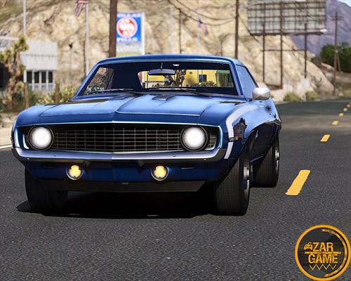 دانلود ماشین Chevrolet Camaro SS 1969 برای بازی GTA V