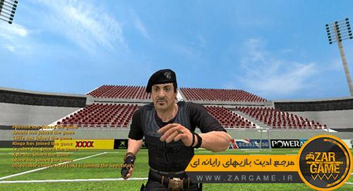 دانلود اسکین سیلوستر استالونه برای بازی کانتر استرایک سورس (CS:S)