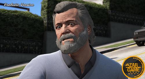 دانلود اسکین پیر مایکل برای GTA V