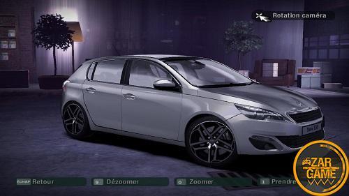 دانلود خودروی Peugeot 308 برای بازی NFS Carbon