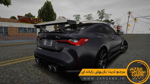 دانلود ماشین 2021 (BMW M4 GTS (G82 برای بازی (GTA 5 (San Andreas