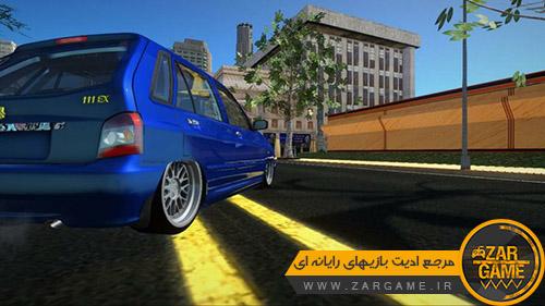 دانلود ماشین کیا پراید 111 کفخواب اسپورت برای بازی (GTA 5 (san Andreas