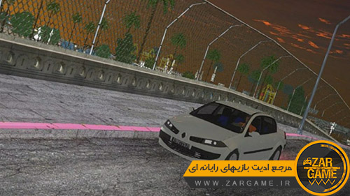 دانلود ماشین رنو مگان سدان برای بازی (GTA 5 (San Andreas
