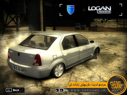 دانلود خودروی Renault Logan برای بازی NFS Most Wanted