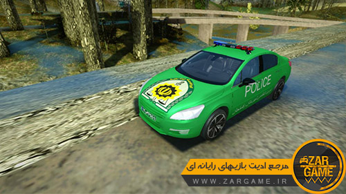 دانلود ماشین پژو 508 پلیس رفسنجان برای بازی (GTA 5 (San Andreas