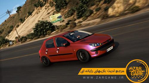 دانلود خودروی پژو 206 برای بازی GTA V
