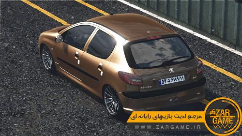 دانلود خودروی پژو 206 برای GTA V