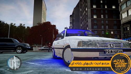 دانلود ماشین پژو 405 GLX [+ نسخه تاکسی] برای بازی GTA IV