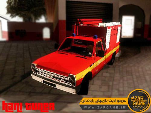 دانلود ماشین نیسان آتش نشانی برای بازی (GTA 5 (San Andreas