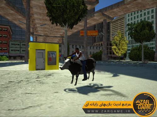 دانلود موتورسیکلت گاوی برای بازی (GTA 5 (San Andreas