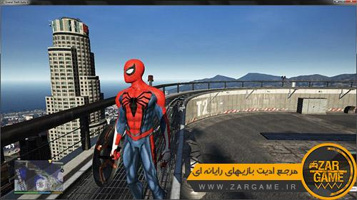 دانلود اسکین مرد عنکبوتی برای بازی GTA V