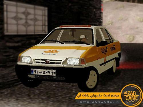 دانلود ماشین پراید امدادخودرو برای بازی GTA San Andreas