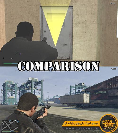 دانلود مد هدف گیری به سبک بازی GTA V برای بازی GTA San  Andreas