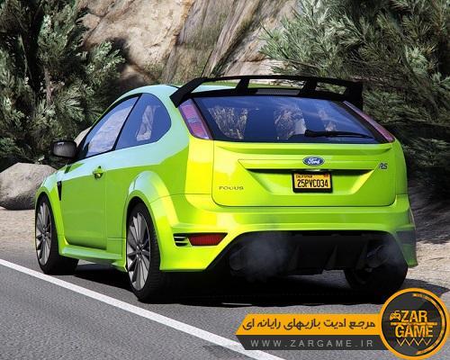 دانلود خودروی Ford Focus RS 2009 برای بازی GTA V