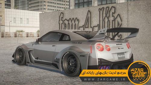 دانلود خودروی Nissan GTR R35 LB Silhouette Works برای بازی GTA5