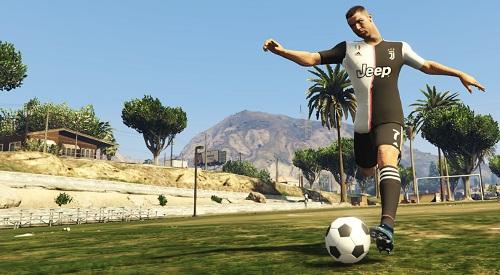 دانلود مد فوتبال (پنالتی زدن به سبک بازی FIFA 21) برای بازی GTA V