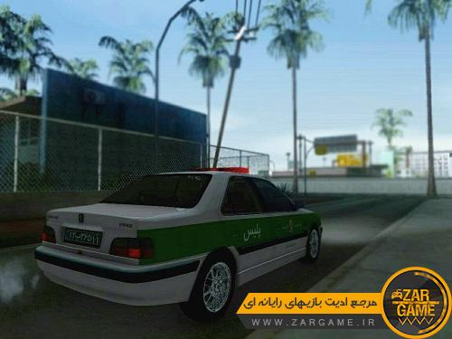 دانلود خودرو پژو پارس پلیس برای بازی GTA San Andreas