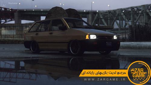 دانلود خودرو سایپا سفری [پراید استیشن] برای بازی GTA V