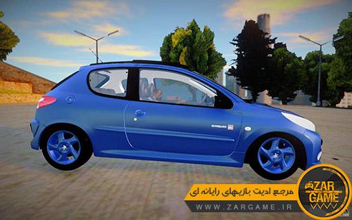 دانلود خودرو پژو 207 Quicksilver برای بازی GTA San Andreas