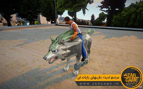 دانلود موتور سیکلت طرح گرگ برای بازی GTA San Andreas
