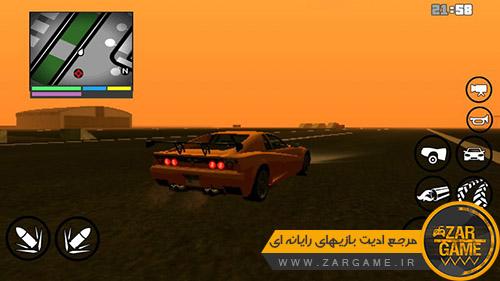 دانلود HUD بازی GTA V برای بازی GTA San Andreas اندروید