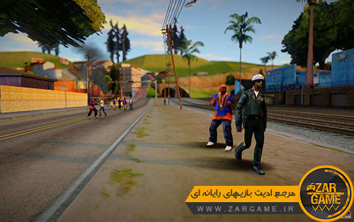 دانلود مد آشوب در شهر برای بازی GTA San Andreas