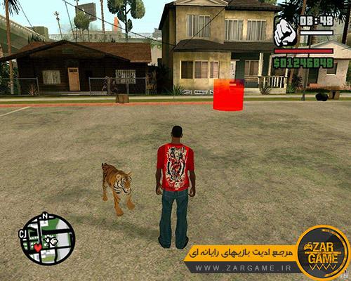دانلود مد ببر برای بازی GTA San Andreas